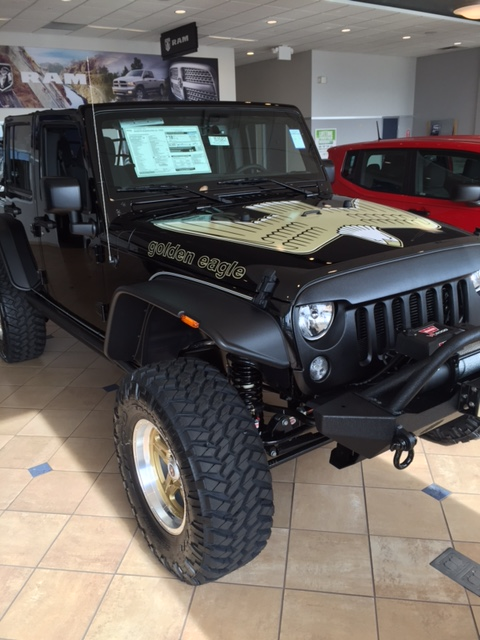 2105 JEEP WRANGLER JK Golden Eagle