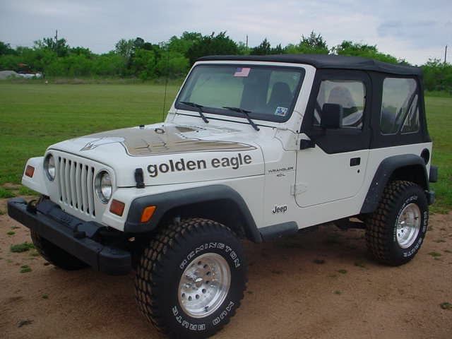 TJ GOLDEN EAGLE LOOKS AWESOME!!