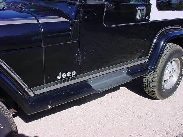 Wrangler Laredo decals now available