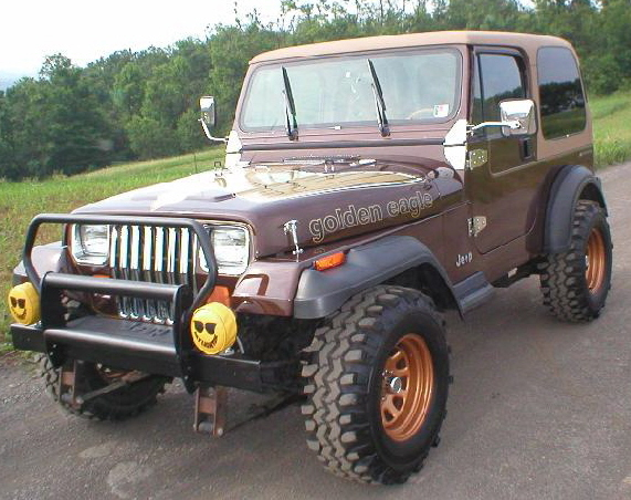 YJ Wrangler Golden Eagle